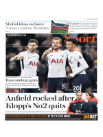 The Daily Telegraph Sport  May 1 2018