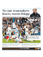 The Daily Telegraph Sport - May 2, 2018
