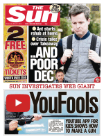 The Sun UK – 21 March 2018