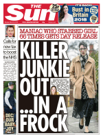 The Sun UK – 26 March 2018