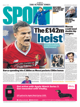 The Sunday Times Sport — 7 January 2018