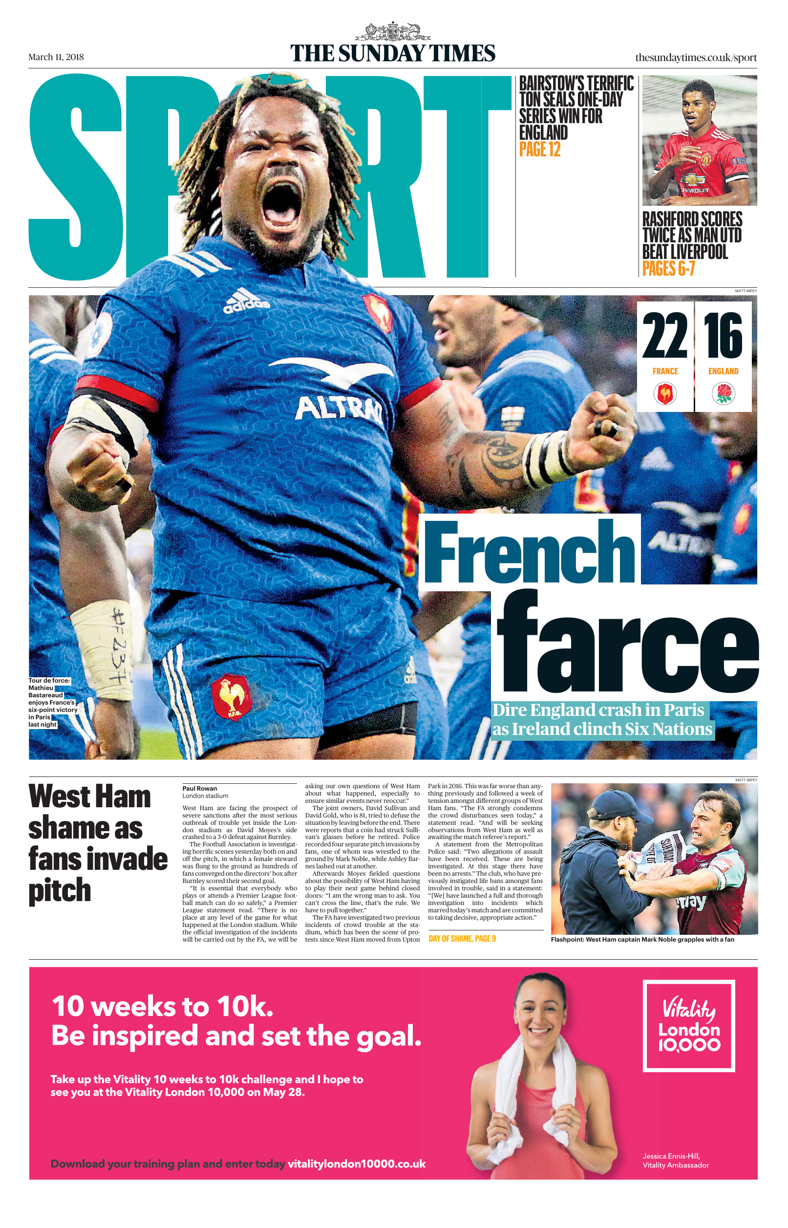 4b4505b15d8 The Sunday Times Sport - 11 March 2018