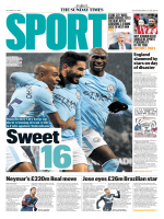 The Sunday Times Sport - 17 December 2017