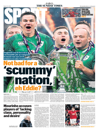 The Sunday Times Sport - 18 March 2018