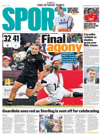 The Sunday Times Sport 27 August 2017