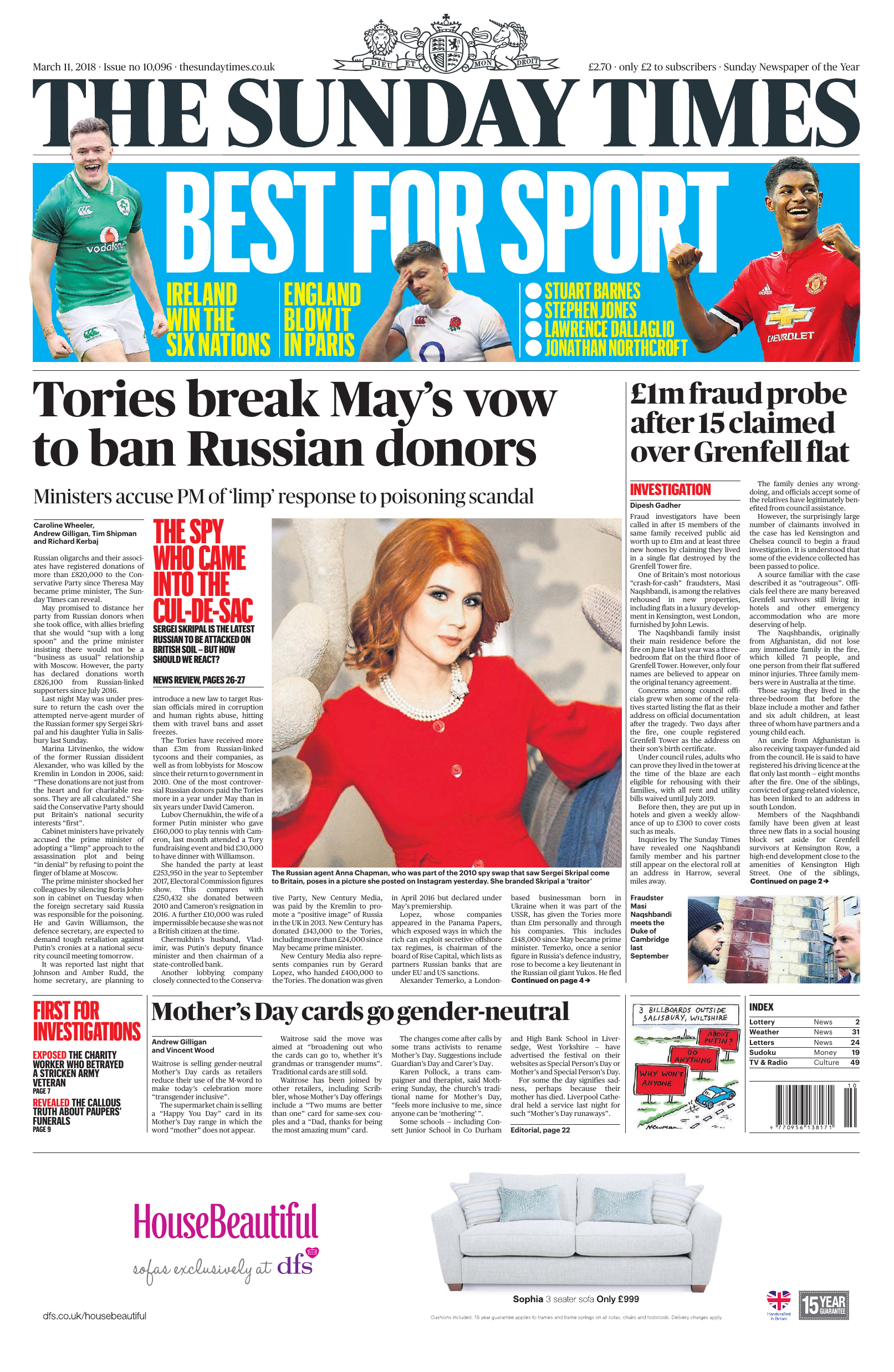 b7fec46052 The Sunday Times UK - 11 March 2018