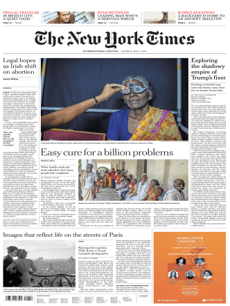 International New York Times - 07 May 2018