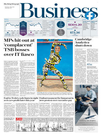 The Daily Telegraph Business  May 3 2018