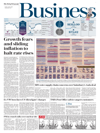 The Daily Telegraph Business - May 4, 2018