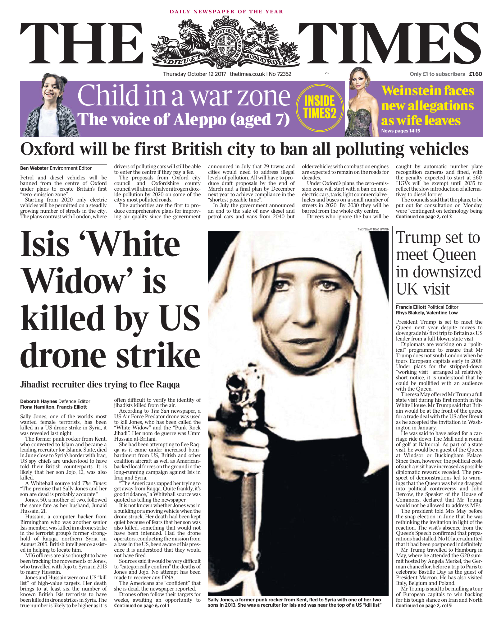 2a6ae16ed3 The Times - 12 October 2017