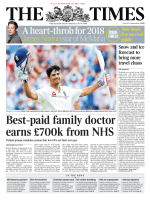 The Times — 29 December 2017