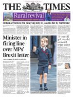 The Times 8 September 2017