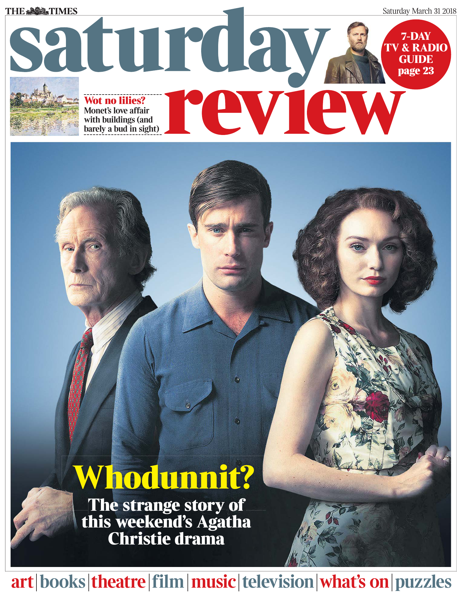 The Times Saturday Review 31 March 2018