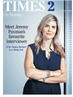 The Times Times 2 – 27 November 2017