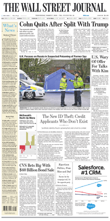 The Wall Street Journal  March 7 2018