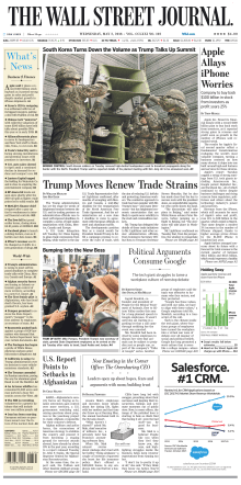 The Wall Street Journal  May 2 2018