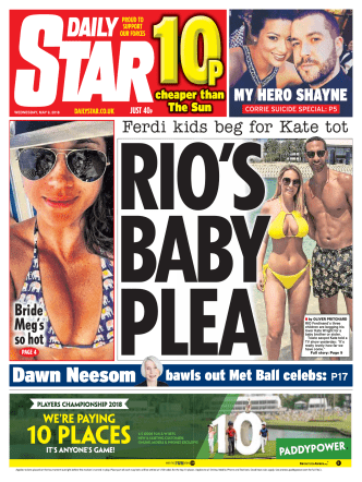 Daily Star – May 09, 2018