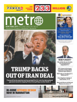 Metro New York – May 09, 2018