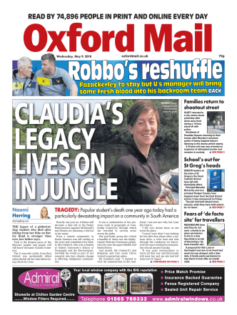 Oxford Mail – May 09, 2018