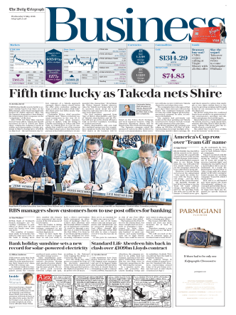 The Daily Telegraph Business - May 9, 2018