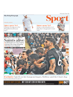 The Daily Telegraph Sport - May 9, 2018