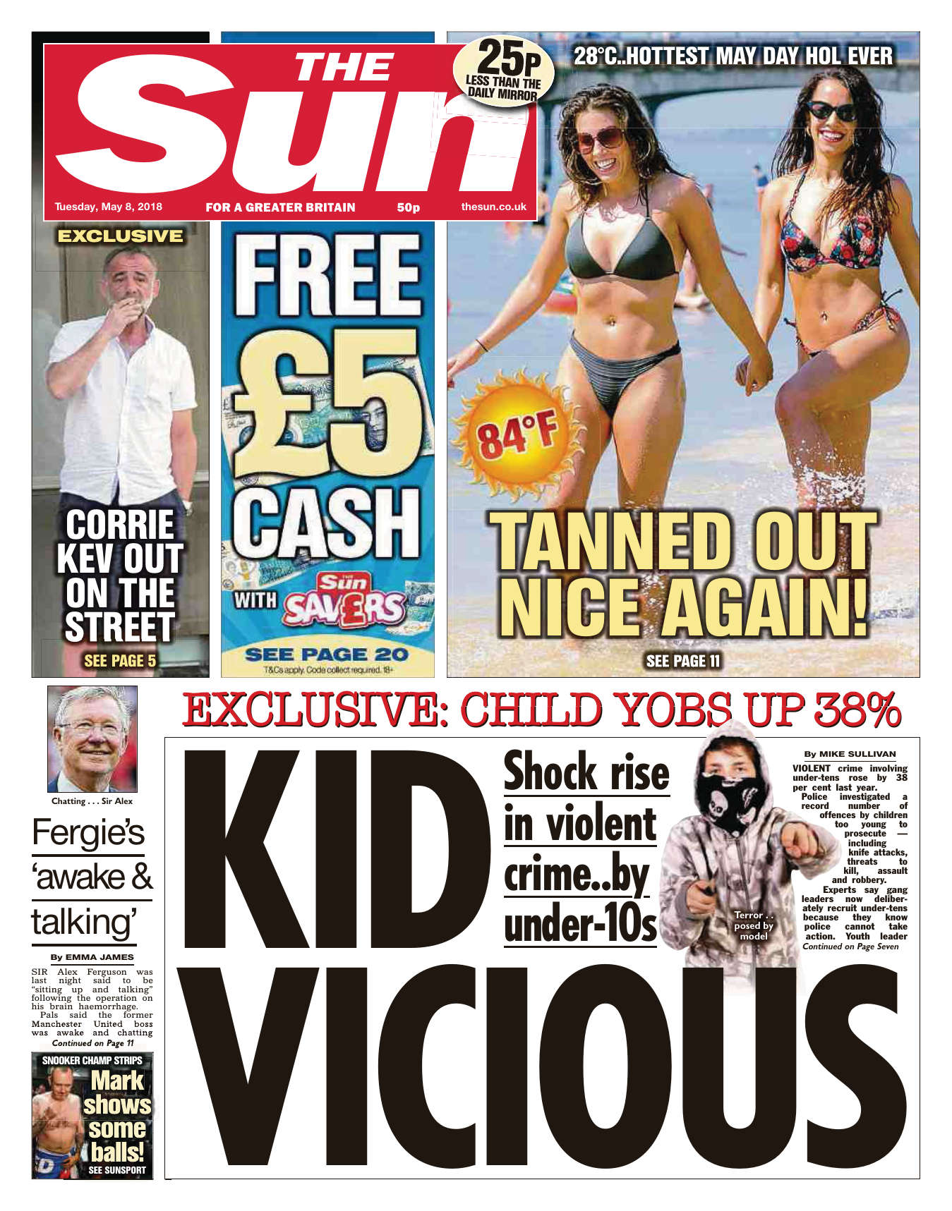 9db73be1418a The Sun UK – 08 May 2018