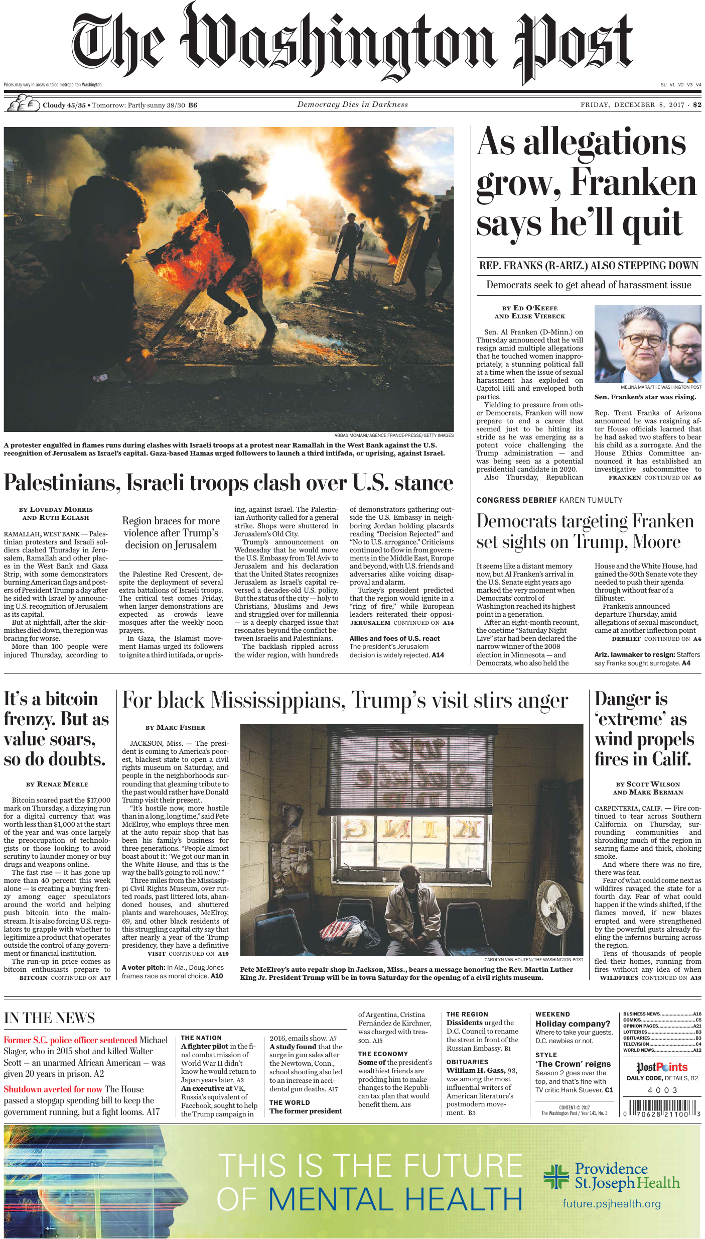 The Washington Post – December 08 40839a099