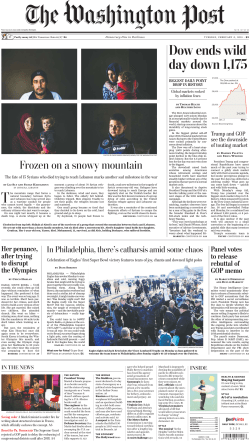The Washington Post – February 06, 2018