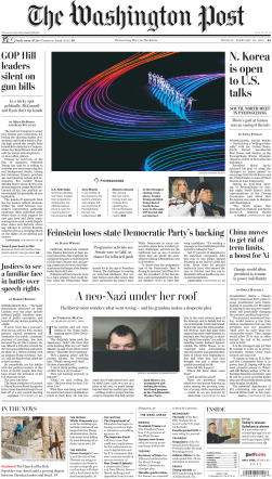 The Washington Post – February 26, 2018