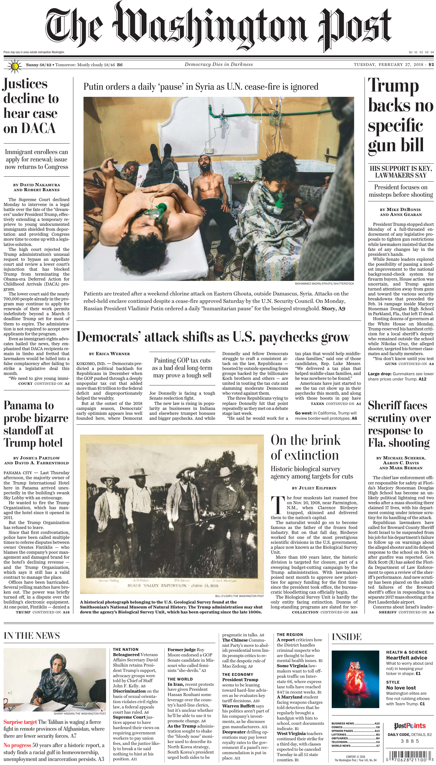 The Washington Post – February 27, 2018
