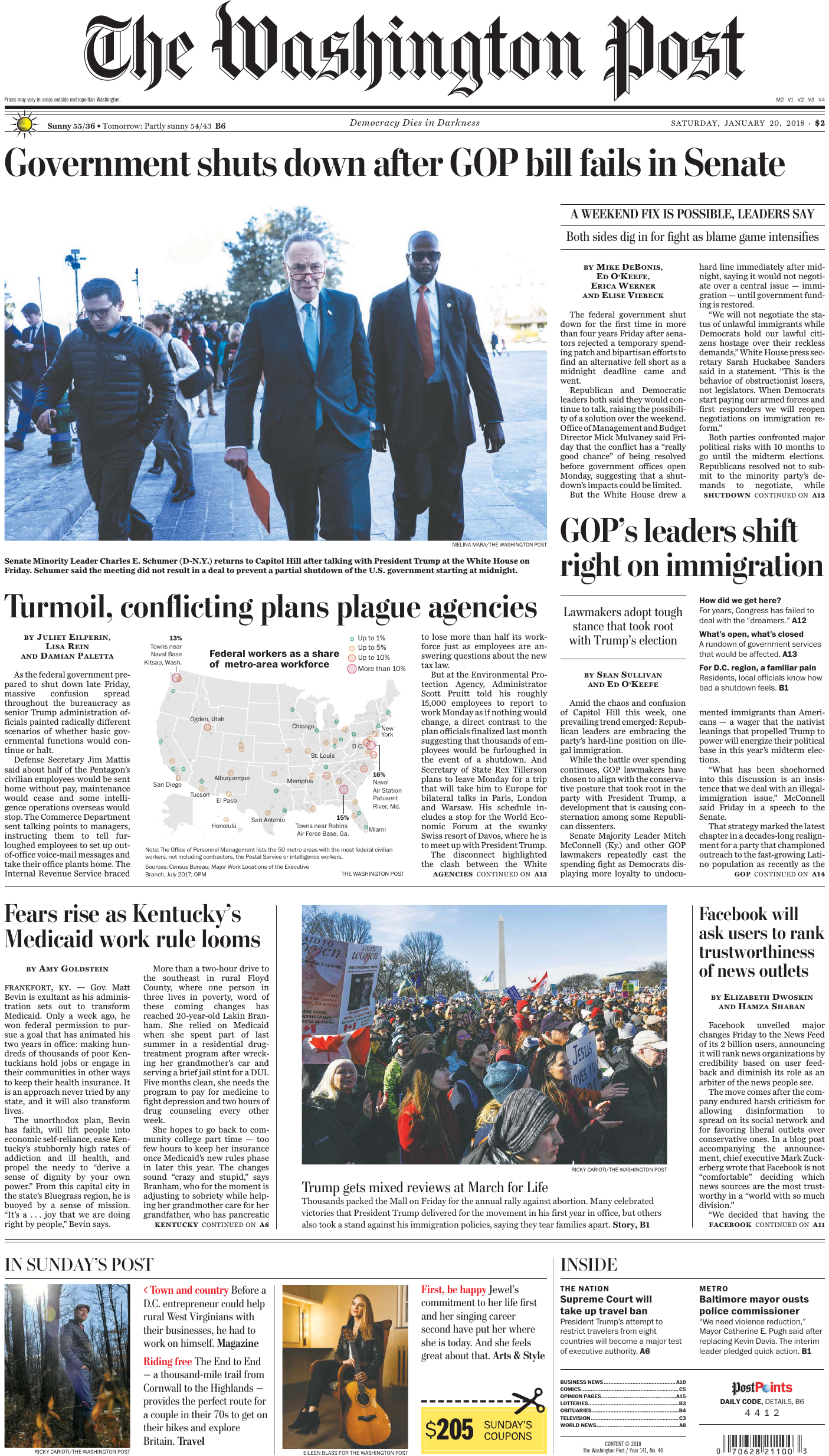 4a678dae94125a The Washington Post – January 20
