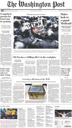 The Washington Post – January 29, 2018