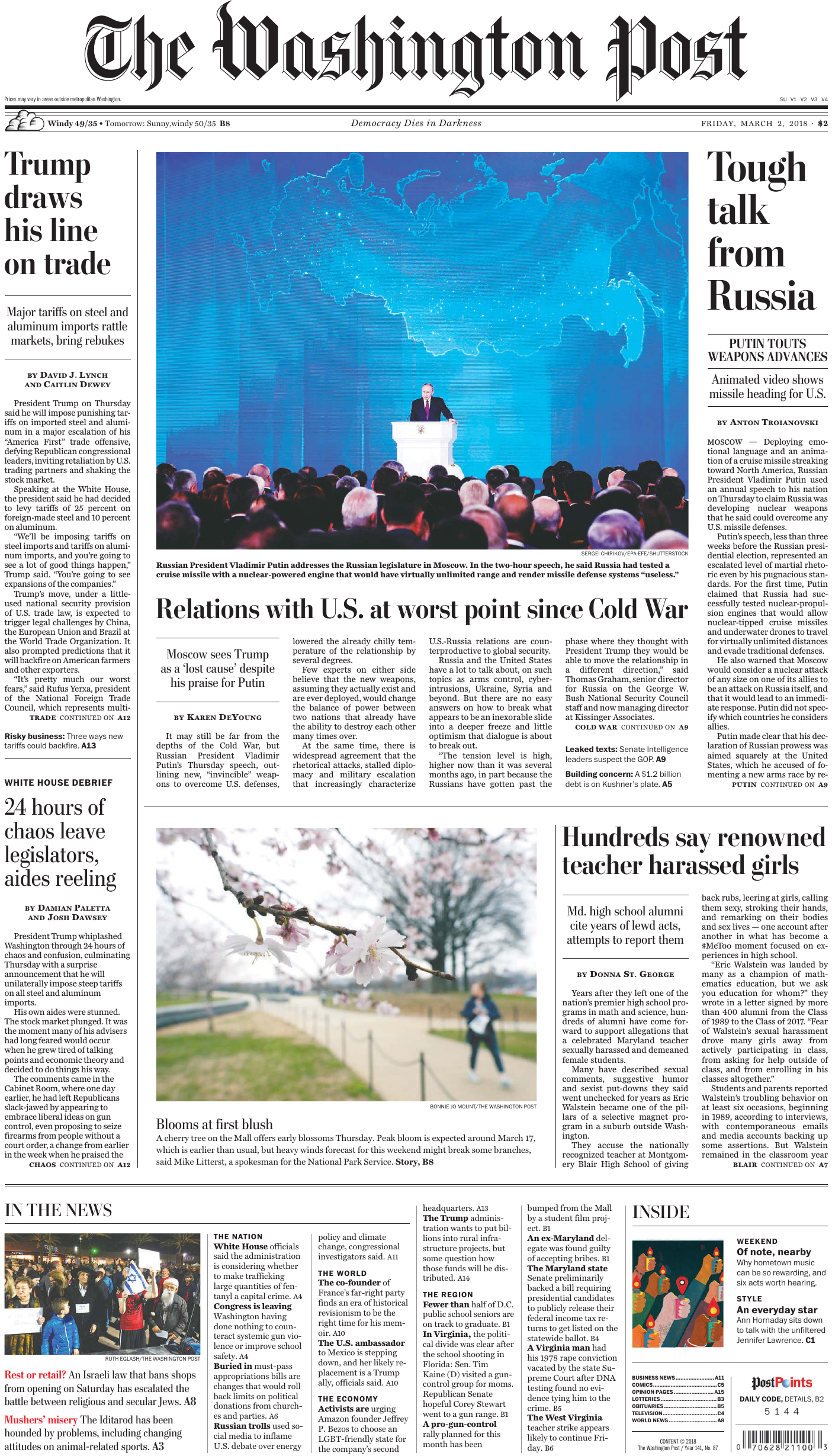 2531110c9009 The Washington Post – March 02