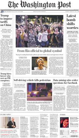 The Washington Post – March 20, 2018
