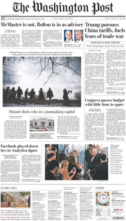 The Washington Post – March 23, 2018