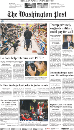 The Washington Post – March 28, 2018