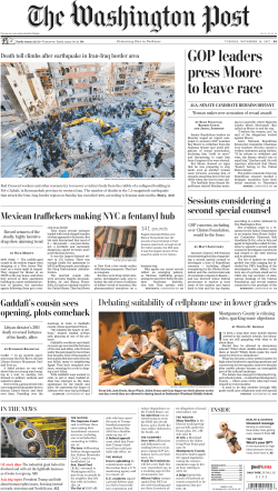 The Washington Post – November 14, 2017