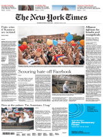 International New York Times - 21 May 2018