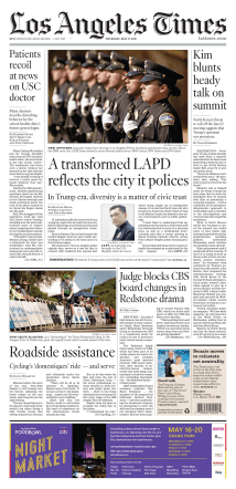 Los Angeles Times – May 17, 2018