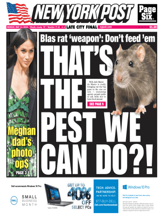New York Post - May 14, 2018