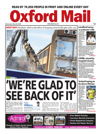 Oxford Mail – May 23, 2018