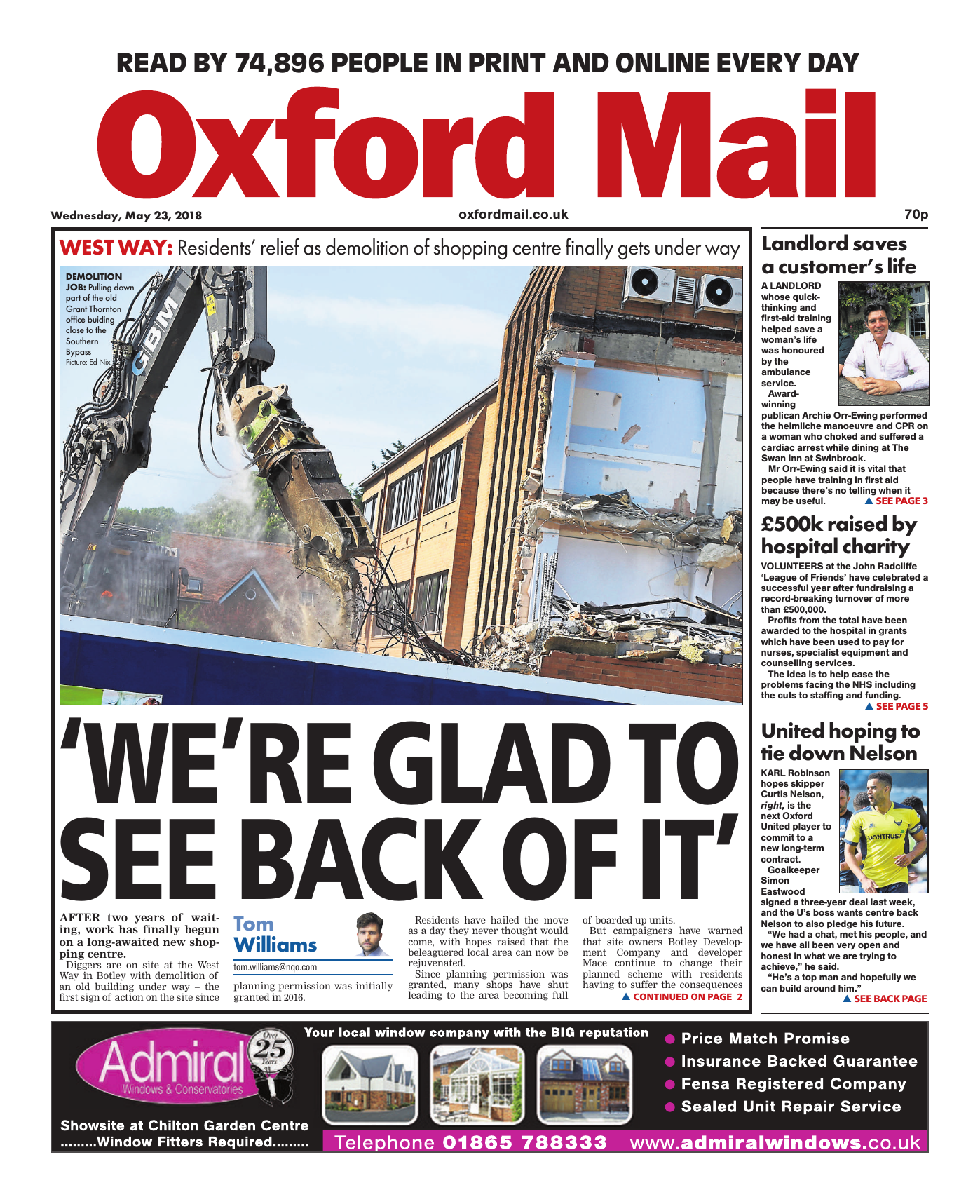 Oxford Mail May 23 2018