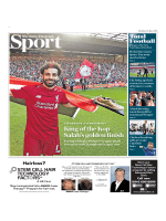 The Daily Telegraph Sport  May 14 2018