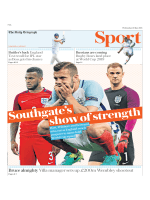 The Daily Telegraph Sport - May 16, 2018