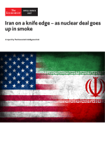 The Economist (Intelligence Unit) - Iran on a knife edge (2018)