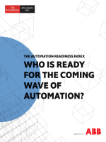 The Economist (Intelligence Unit) - Who is Ready for the Coming Wave of Automation