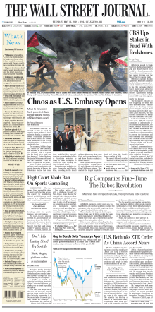 The Wall Street Journal - May 15, 2018