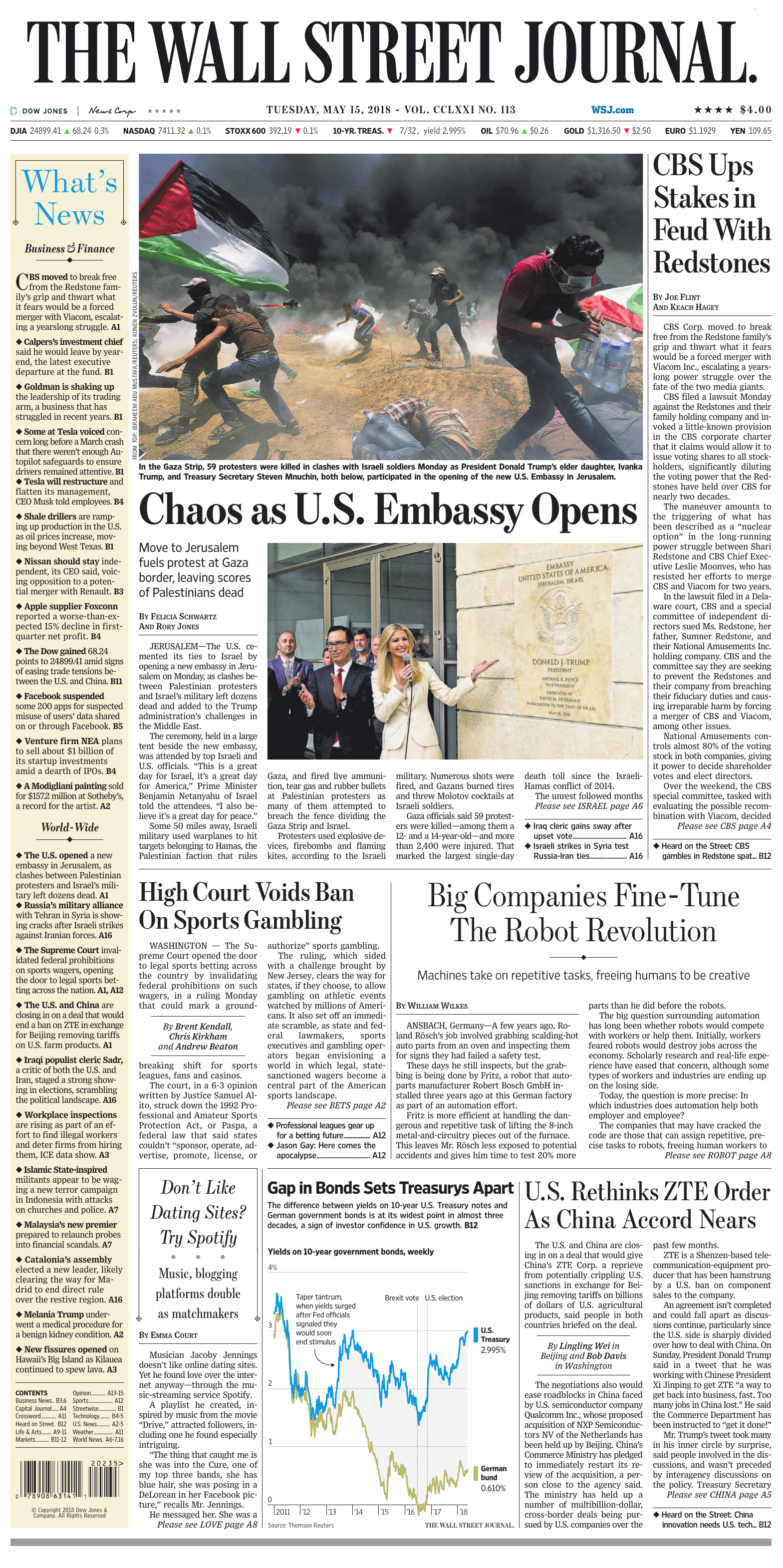 d73690fe3fa7 The Wall Street Journal - May 15