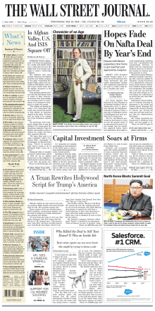 The Wall Street Journal - May 16, 2018