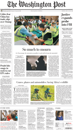 The Washington Post – May 21, 2018
